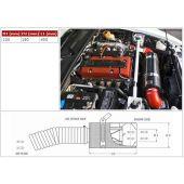 Carbon dynamic airbox BMC Honda S2000