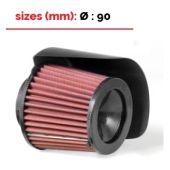 Conisch Carbon racing filter BMC diam 90mm