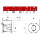 Filtre Remplacement pr OTA 170 BMC