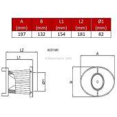 Replacement filtering vr OTA 200 BMC