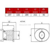 Filtre Remplacement pr OTA 230 BMC