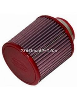 Filtre conique univ. BMC Single Air Top carbone diam 60 mm