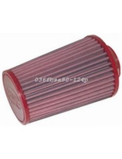 Filtre conique univ. BMC Single Air Top polyur. diam 80 mm