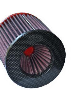 Filtre conique universel BMC Twin Air Top Carbone diam 70 mm
