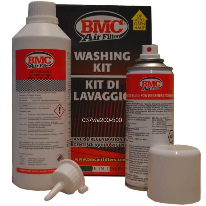 Complete BMC filteronderhoudsset (afwasmiddel + spray)